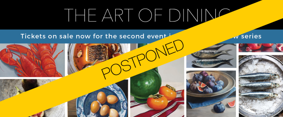 Pop Up Page Laura White The Artof Dining Series2 POSTPONED