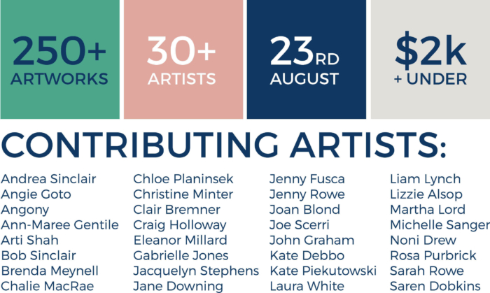 Pop Up Gallery Contributing Artists 02