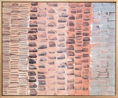 Amy Kim Landscraped 2 framed
