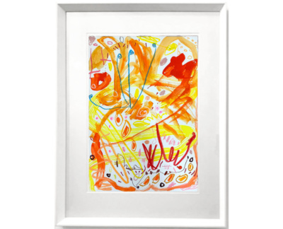 Orange Hanna Rose