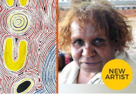 New Artist Spotlight: August – Debra Nangala McDonald