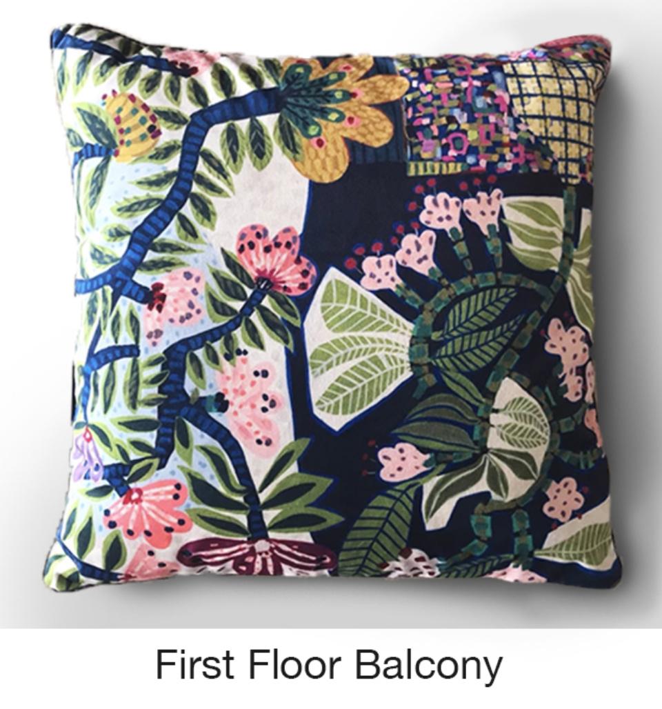 Cushion First Floor Balcony Sarah Rowe