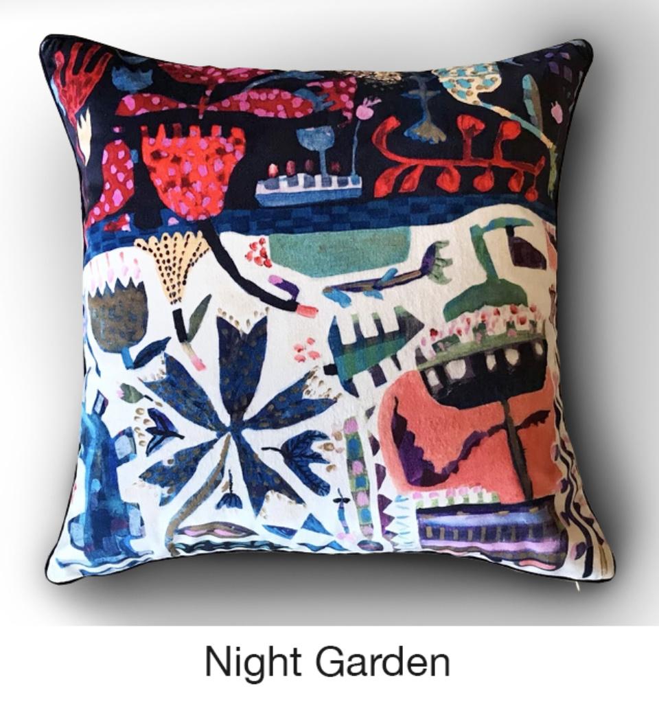 Cushion Night Garden