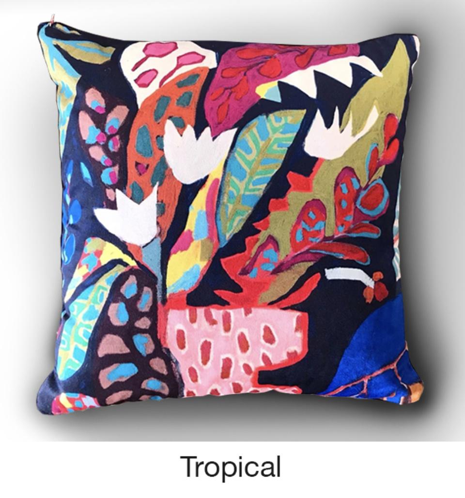 Cushion Tropical