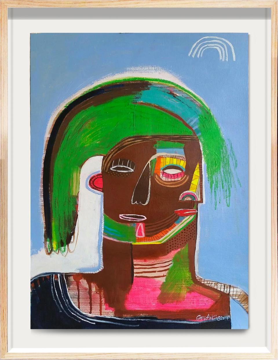 Angie Goto Ava Framed