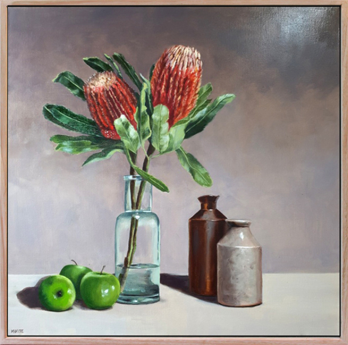 Laura White Banksias With Grannies