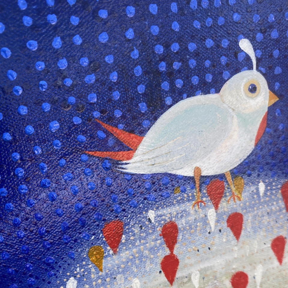 Patricia Heaslip Birdy Detail