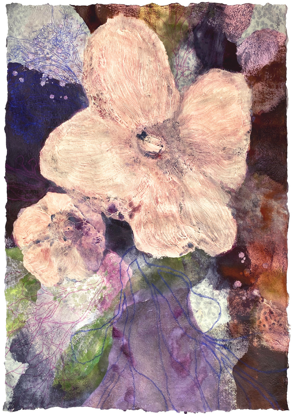 Jo Dyer Blossoms Branches