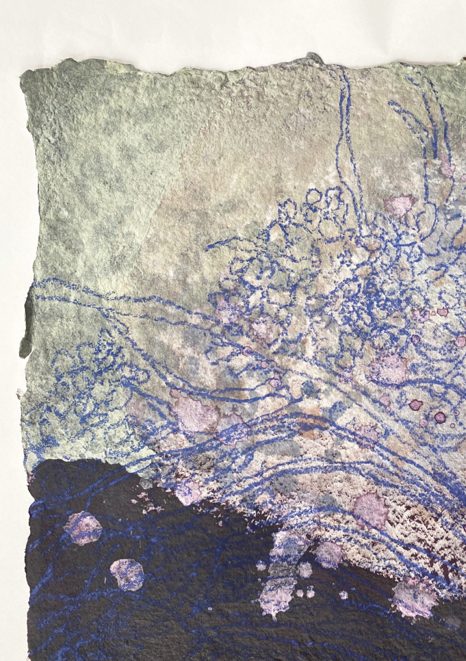 Jo Dyer Blossoms Branches detail