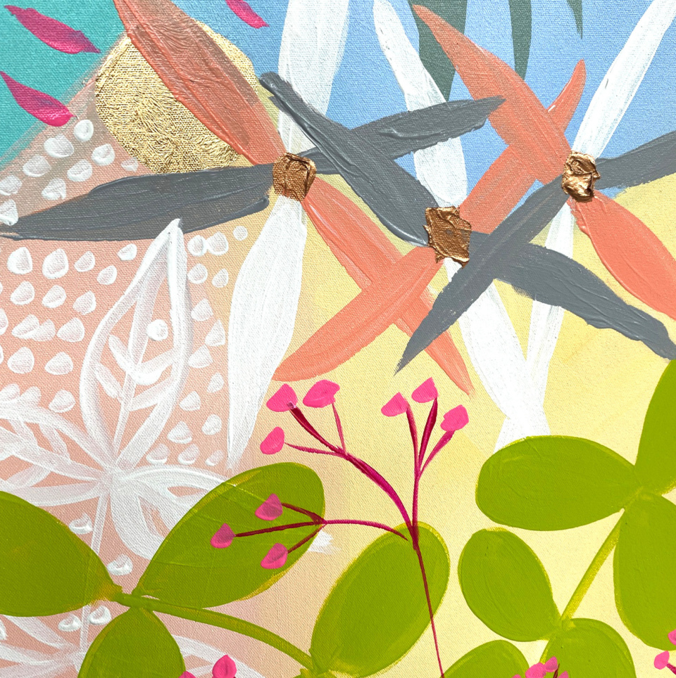 Joan Blond Bohemian Garden Detail