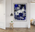 Botanical Bright Blue Insitu Crop