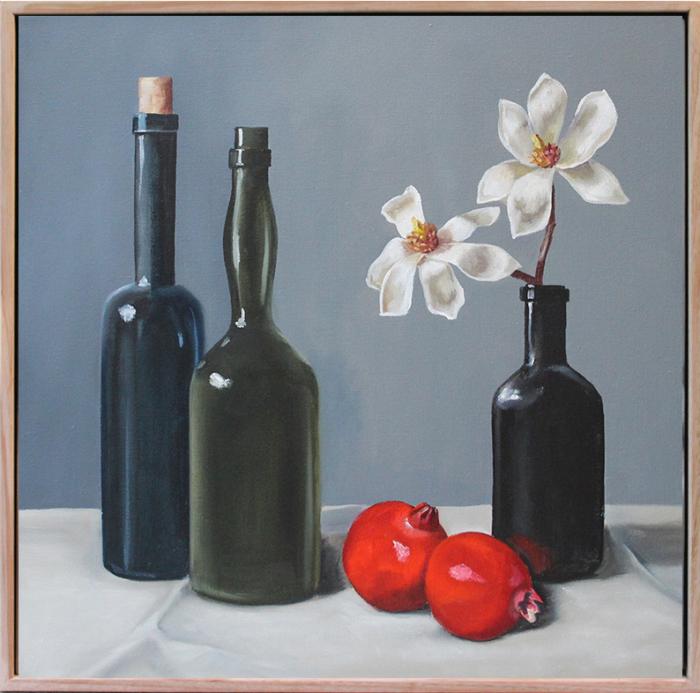 Laura White Bottlesand Magnolias