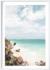 Michelle Schofield Caribbean Coast white Framed photographic print