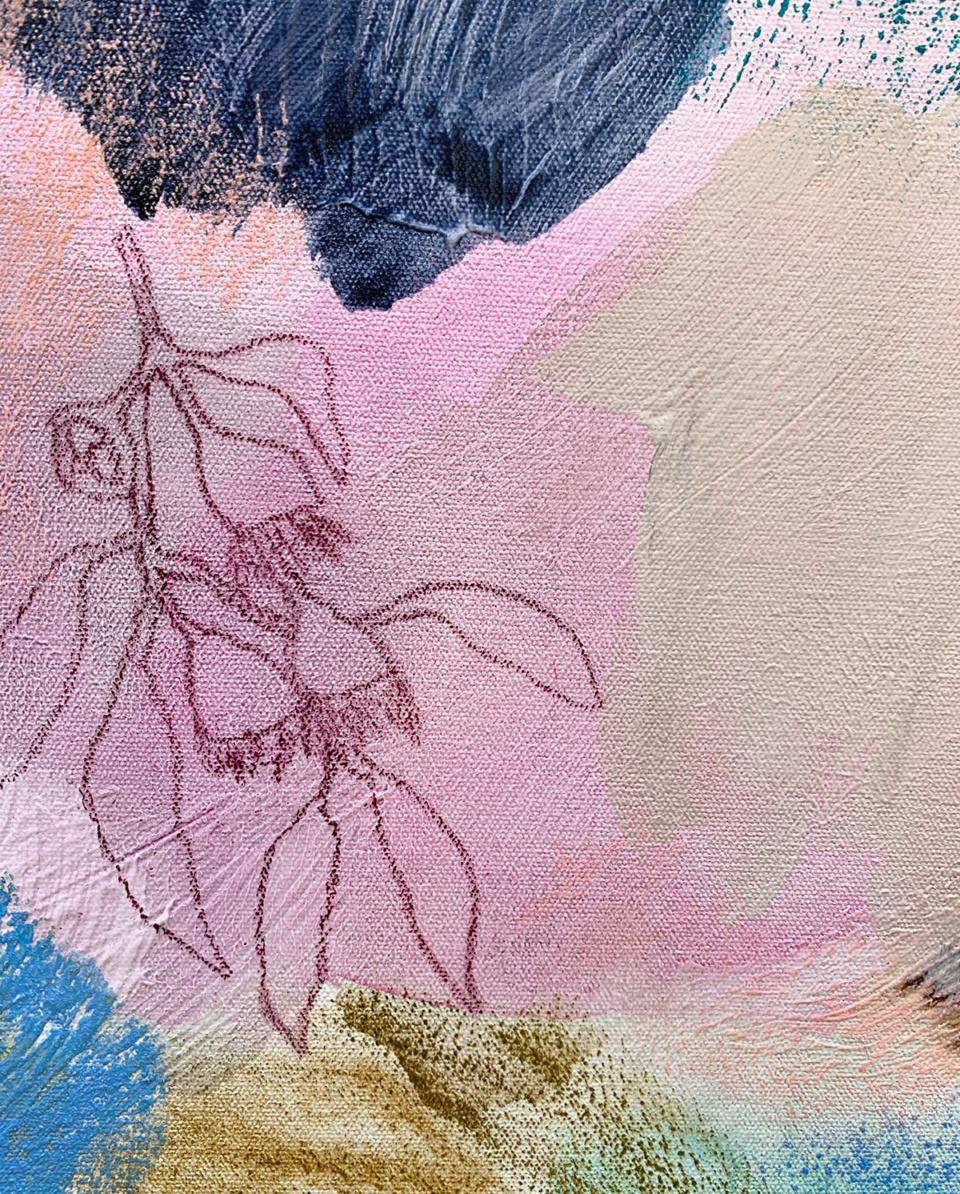 Jo Dyer Colour Sprig XIV Detail