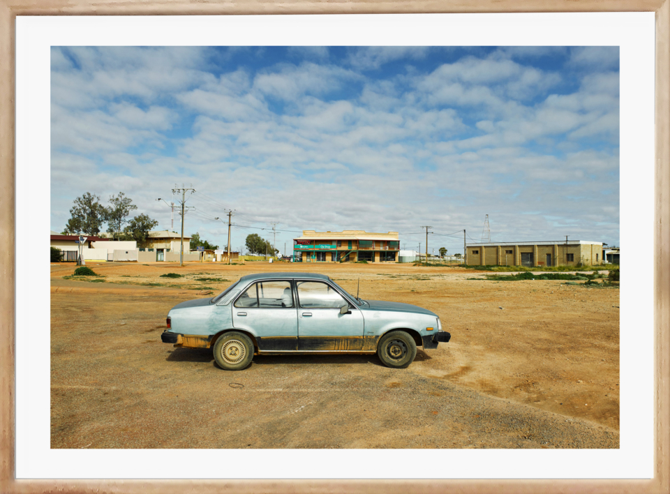 Craig Holloway Coober Pedy 01 Framed Raw