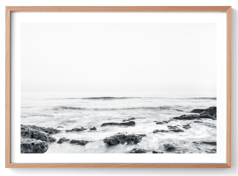 Michelle Schofield Endless Waves Oak Frame