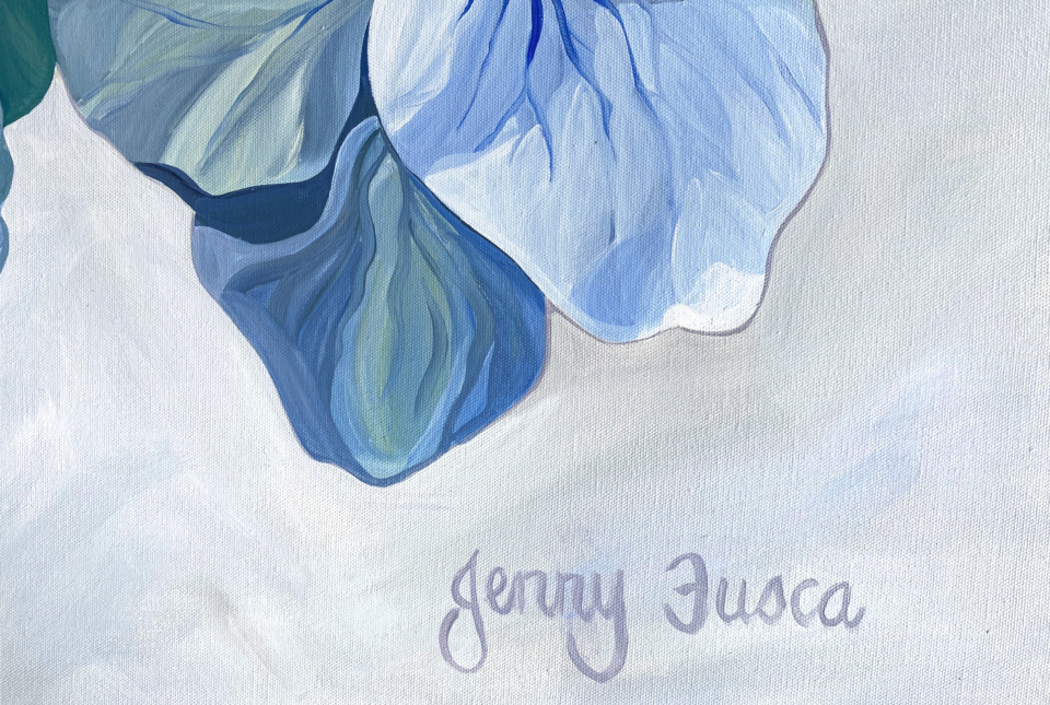 Jenny Fusca Falling For You Detail