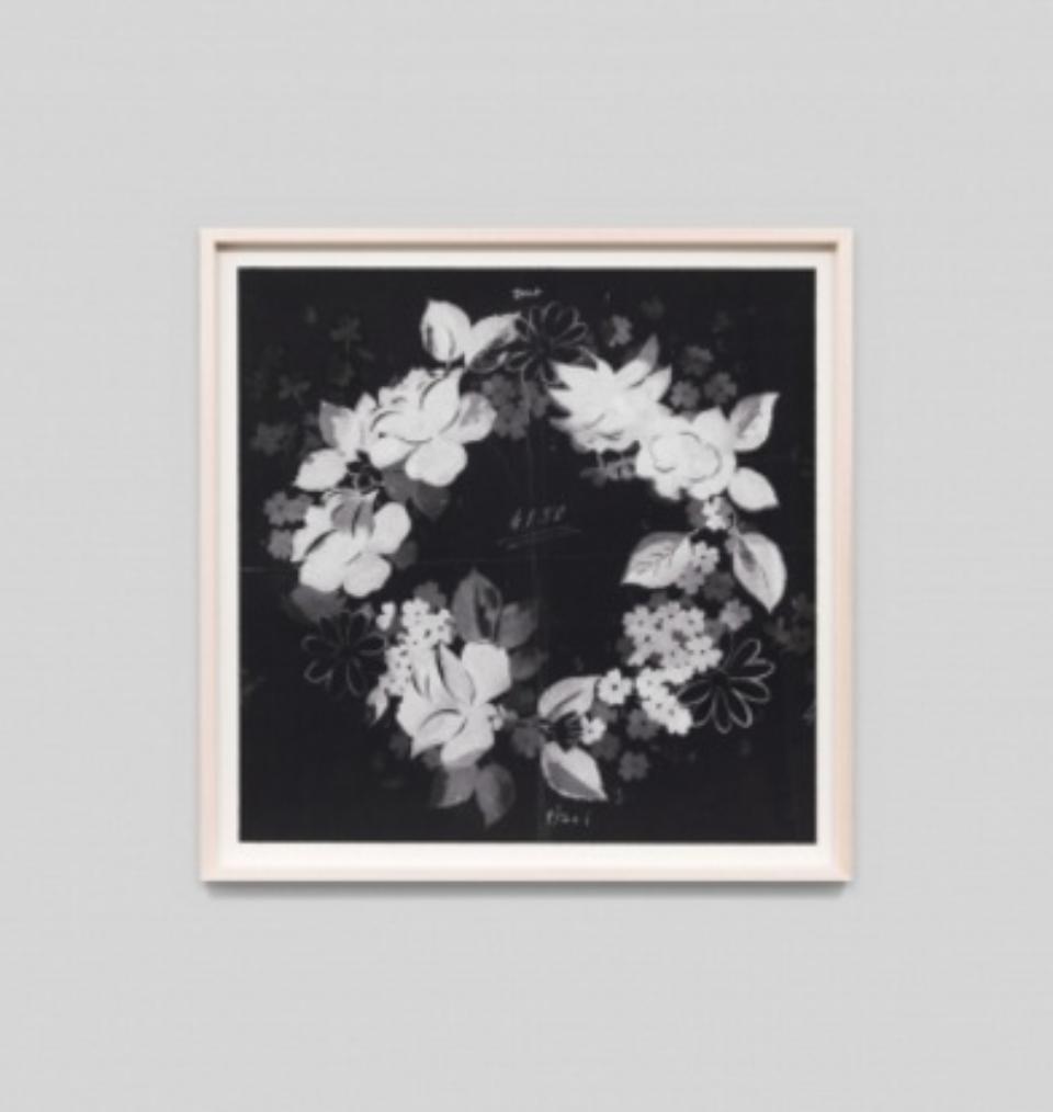 Paule Marrot Fleur Couronne Noir F3