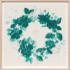 Paule Marrot Fleur Couronne Vert 08