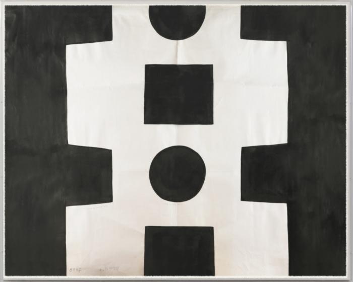 Paule Marrot Geometrique Noir High Res