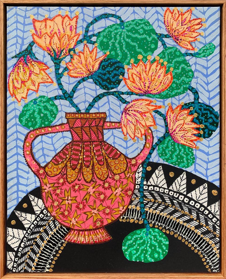 Sarah Rowe Golden Lotus Artwork