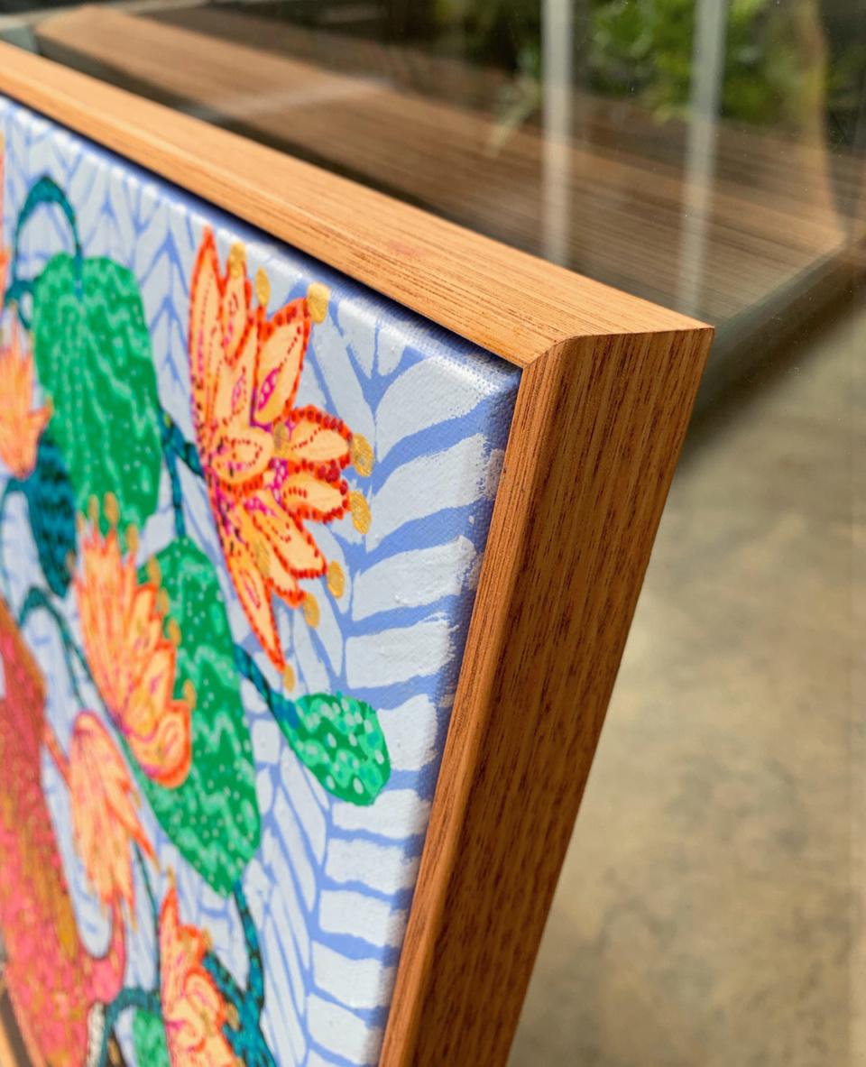 Sarah Rowe Golden Lotus detail2