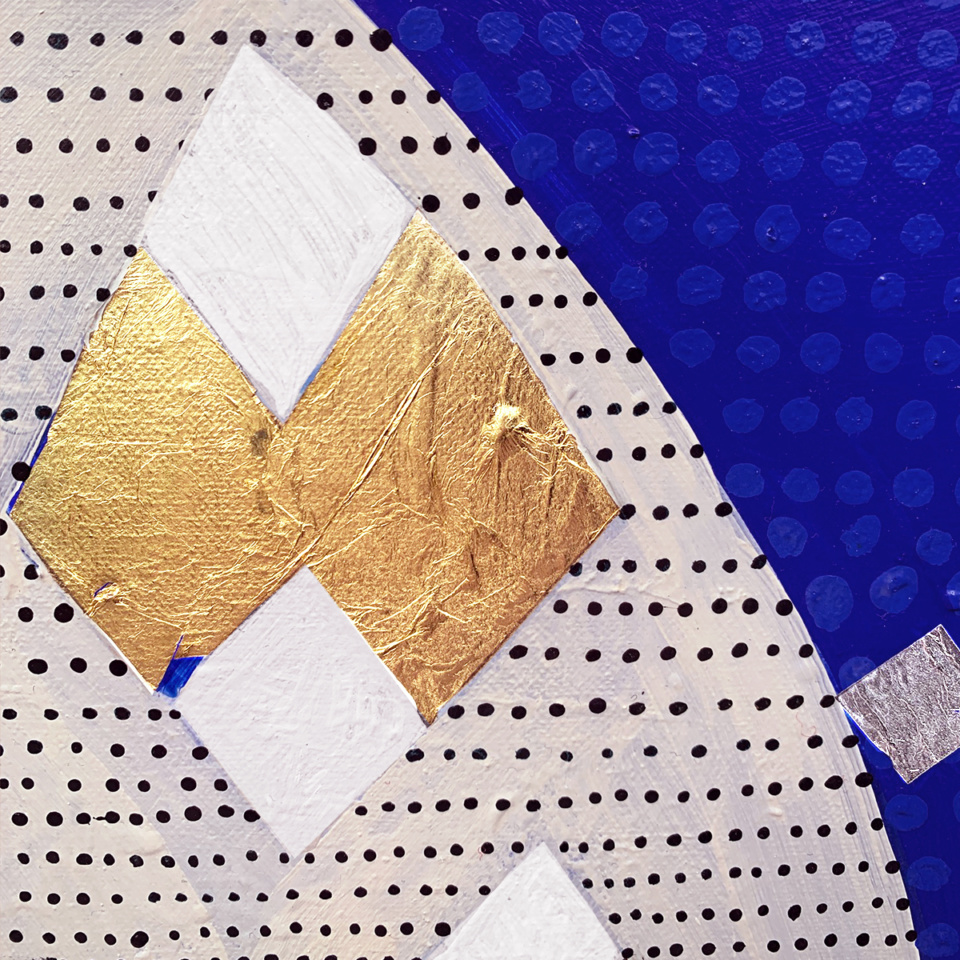 Patricia Healsip Hill of Gold Diamonds detail