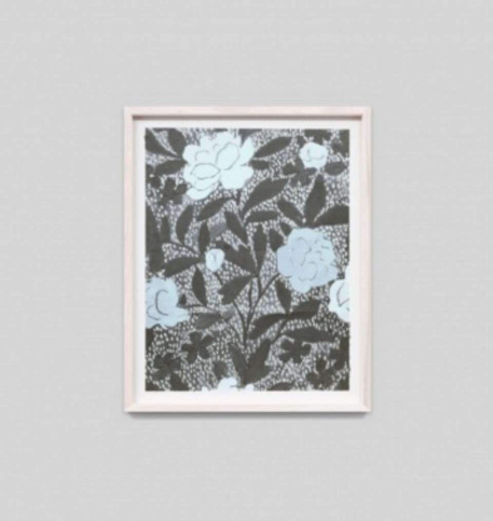 Paule Marrot Jardin Bleu F3