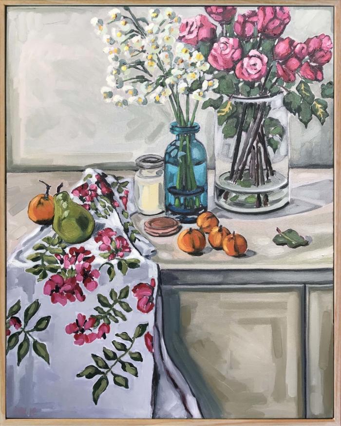 Alison Westwood Kitchen Garden Framed