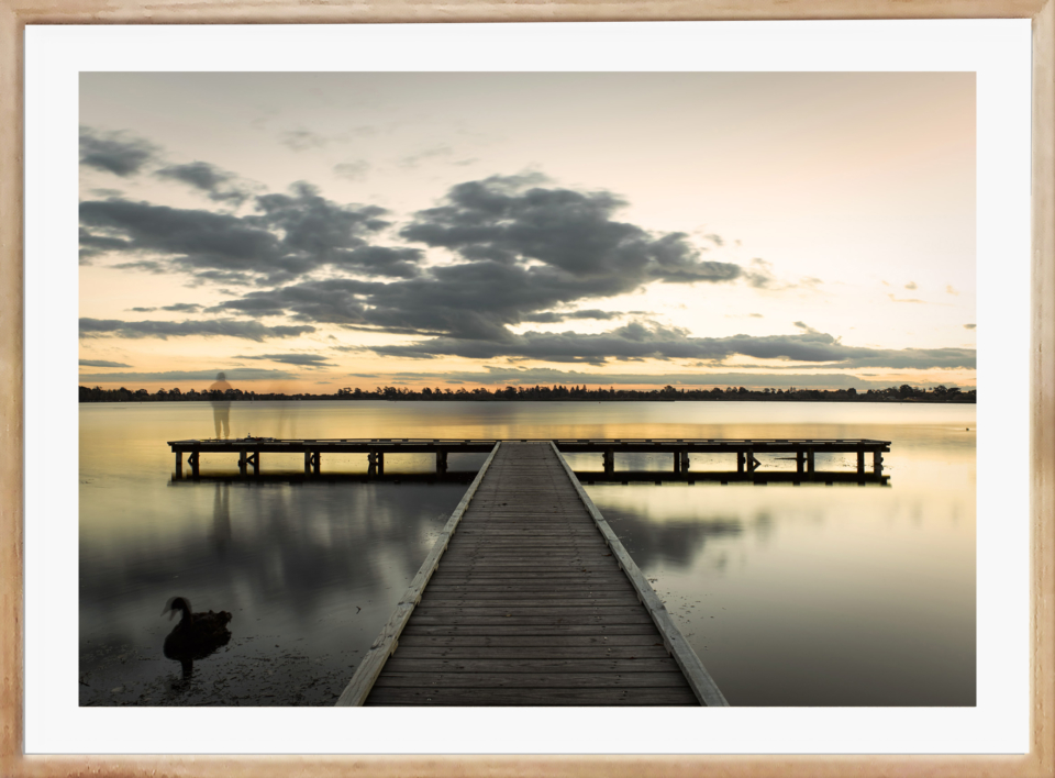 Craig Holloway Lake Wendouree 03 Framed Raw