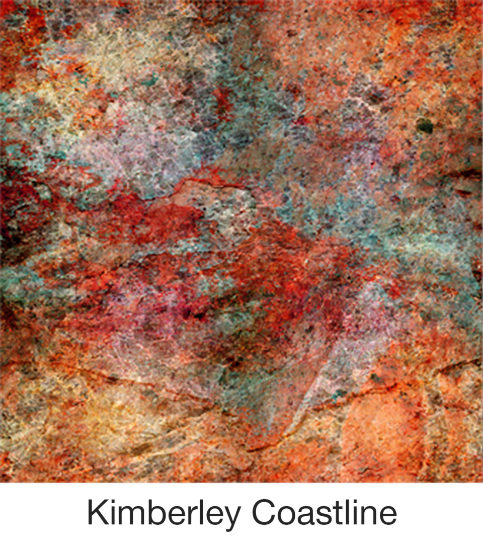 Susan Trigg Scarf Kimberley Coastline