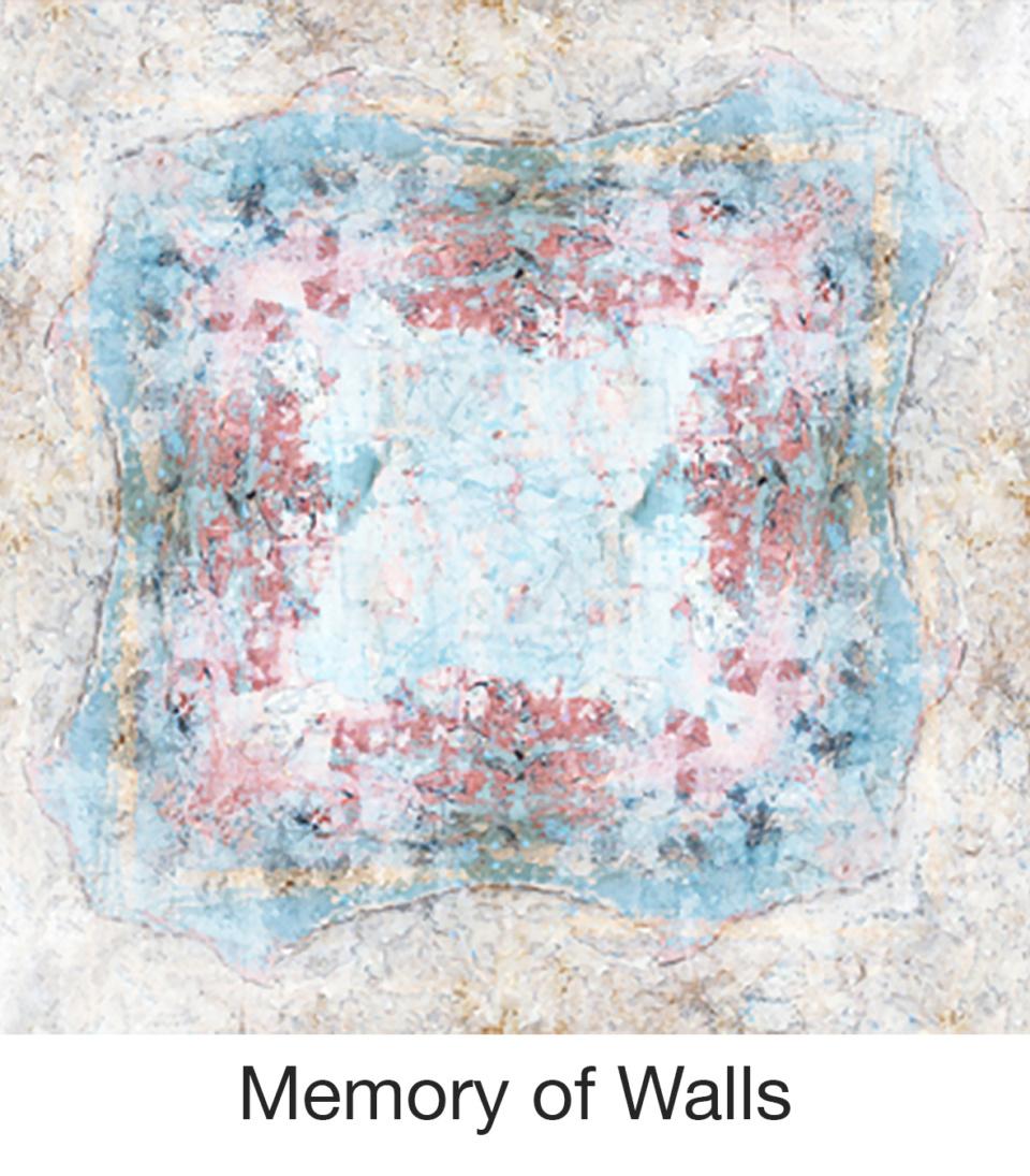 Susan Trigg Scarf Memory of Walls