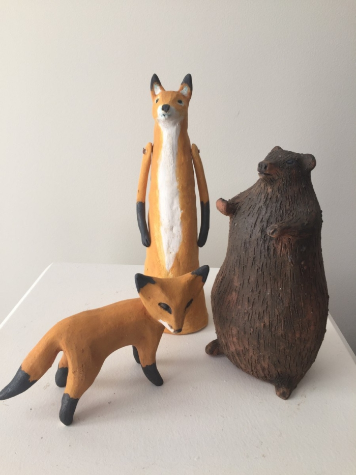Jenny Rowe Little Fox Foxy Loxy And Bear 1
