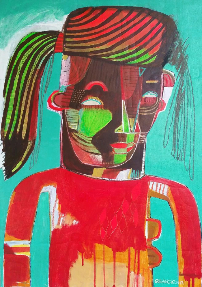Angie Goto Maha Green