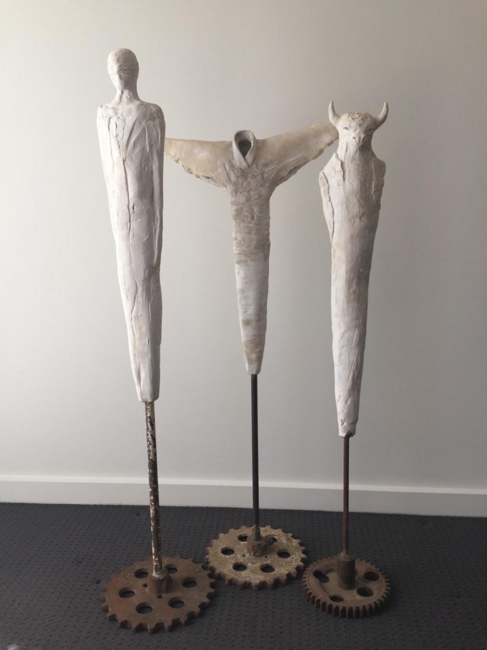 Jenny Rowe Minotaur Kimonoand Mask