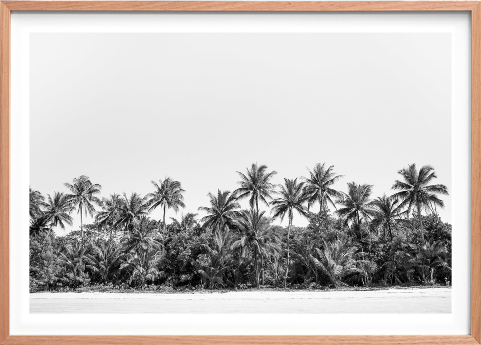 Michelle Schofield Mission Beach Raw Framed photographic print