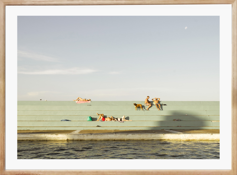 Craig Holloway Newcastle Ocean Baths 02 Framed Raw