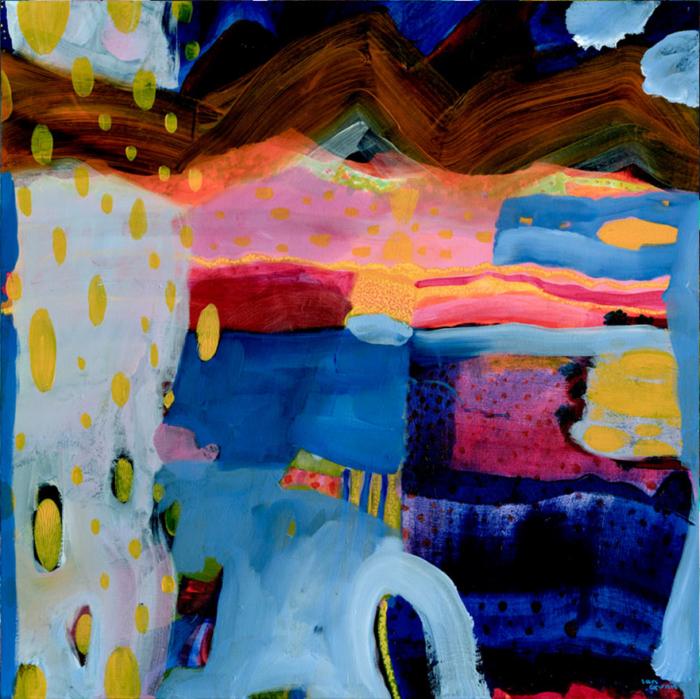 Ian Gunn Night Landscape Print