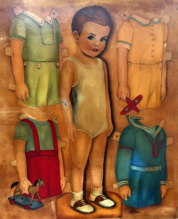 Gwenda Mc Dougall No4 Paper Boy 1957