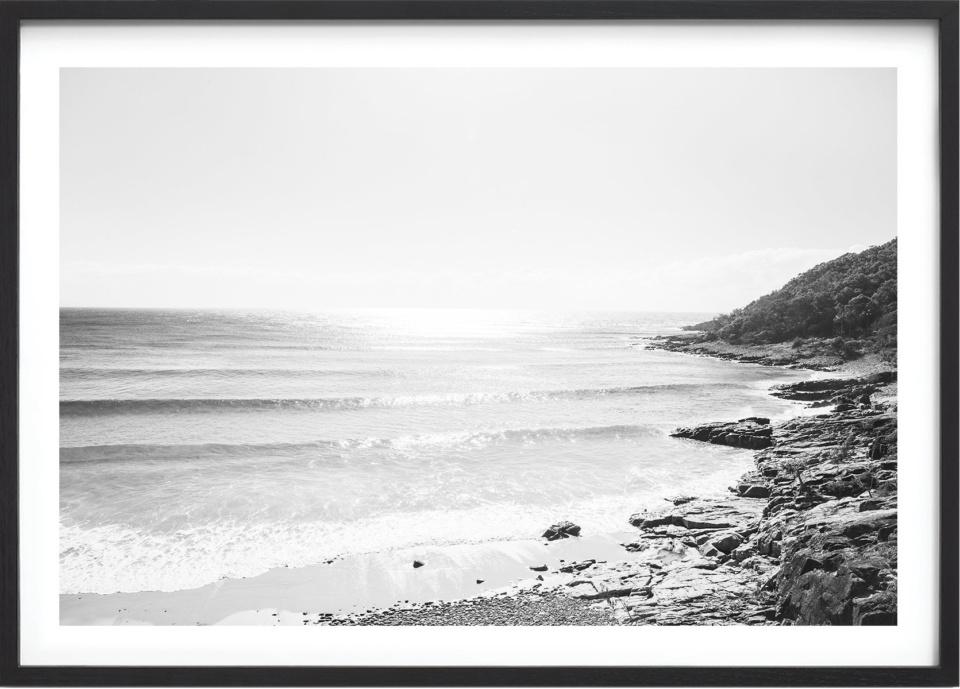 Michelle Schofield Noosa Heads Black Framed Photographic Print