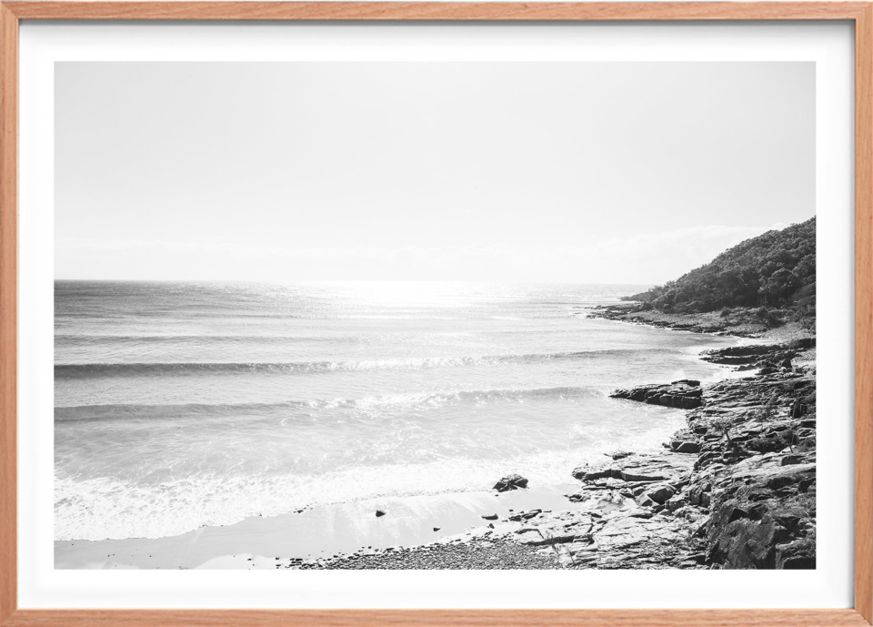 Michelle Schofield Noosa Heads Raw Framed Photographic Print