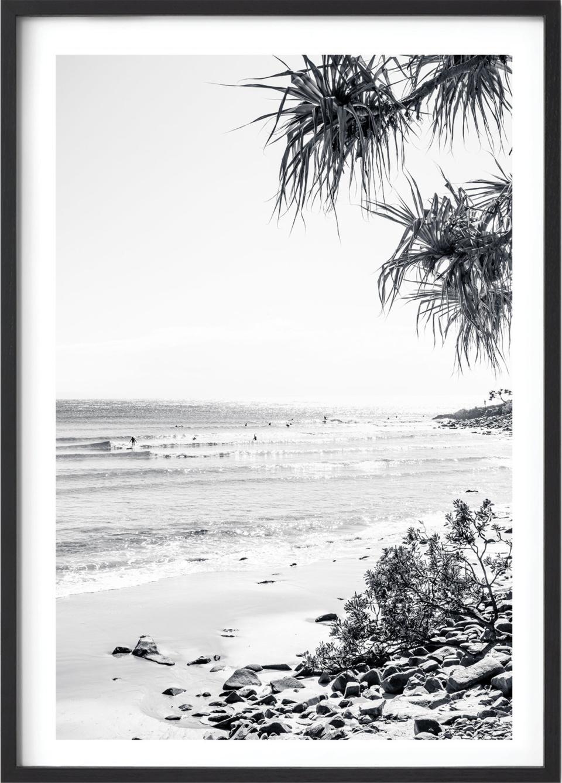 Michelle Schofield Noosa Sunrise Black Framed Photographic Print