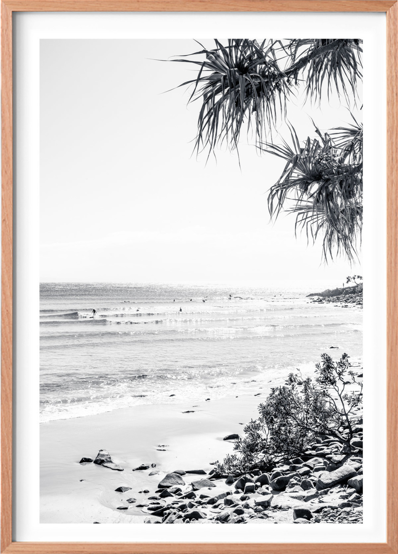 Michelle Schofield Noosa Sunrise Raw Framed Photographic Print