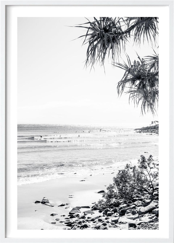 Michelle Schofield Noosa Sunrise White Framed Photographic Print