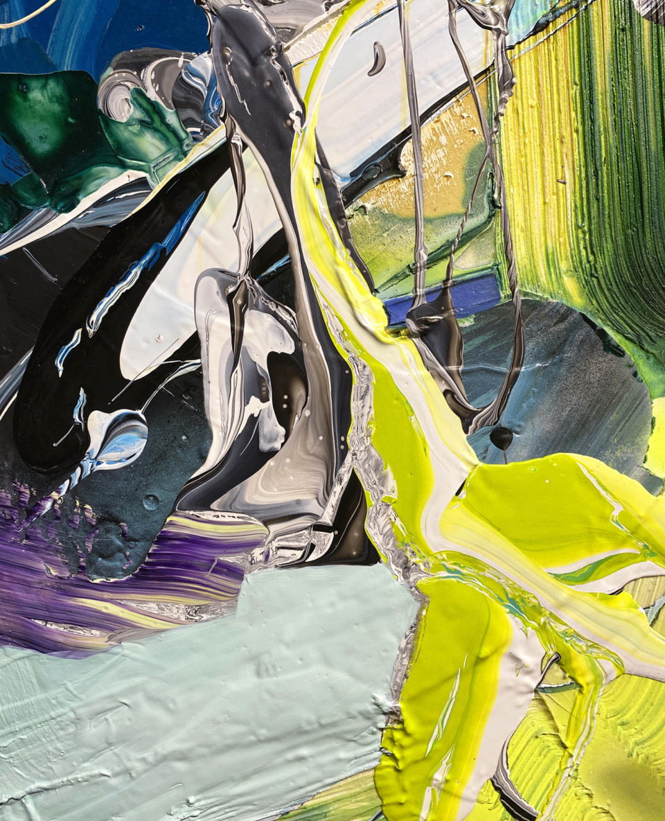 Cristina Popovici Origination Yellow Detail