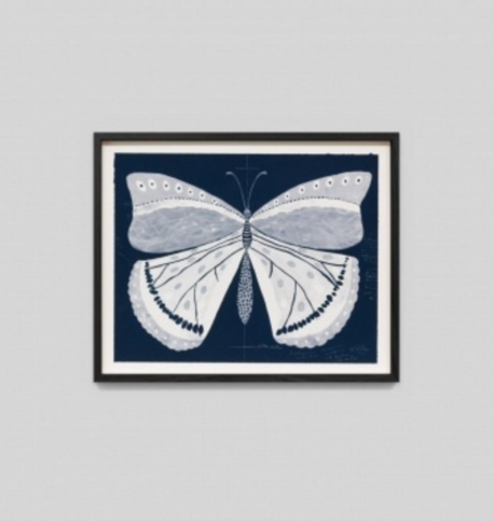 Paule Marrot Papillion Navy 1 F2
