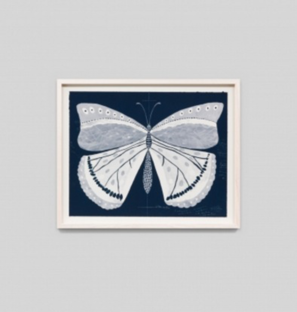 Paule Marrot Papillion Navy 1 F3