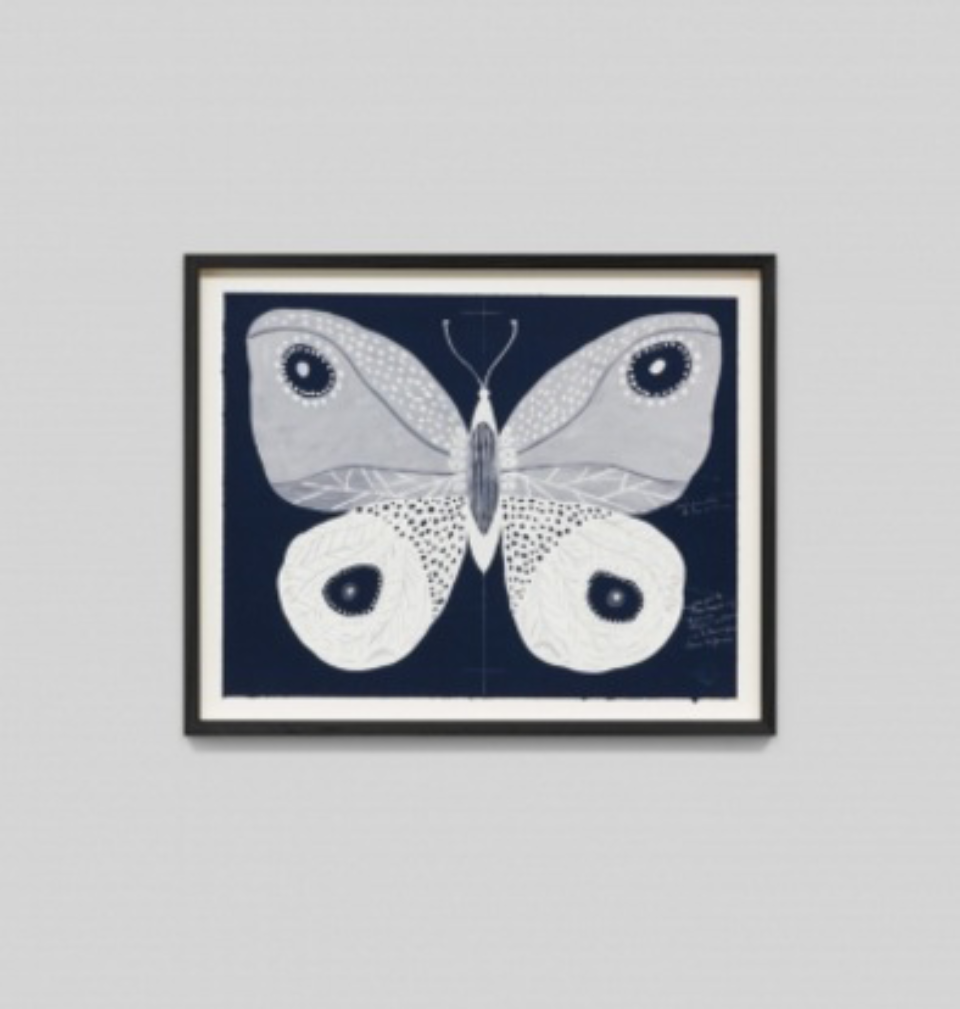 Paule Marrot Papillion Navy 2 F2