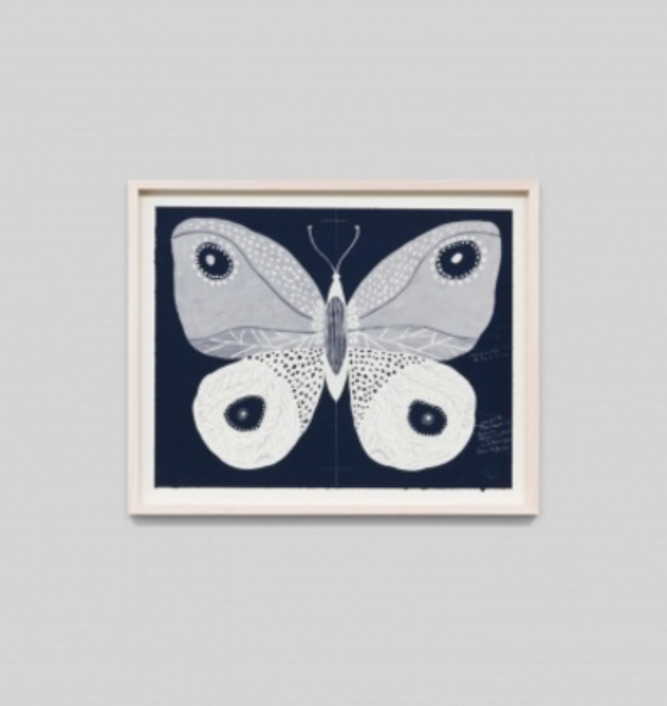 Paule Marrot Papillion Navy 2 F3