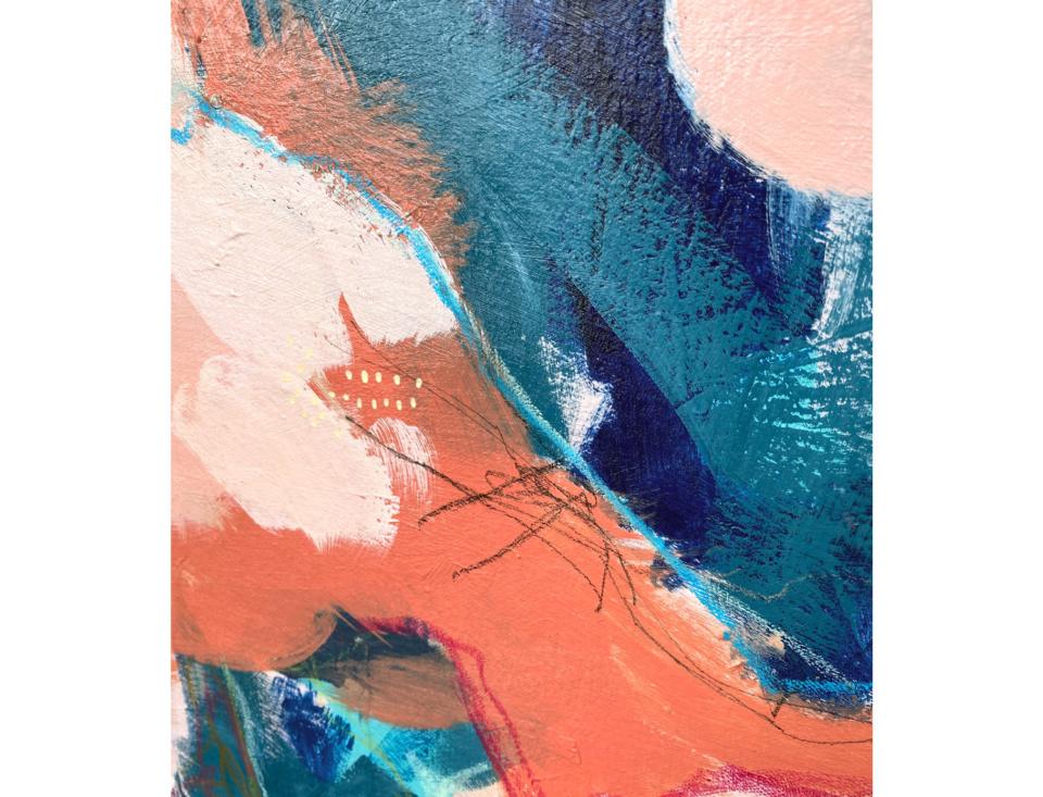 Bree Morrison Pink Paradise detail